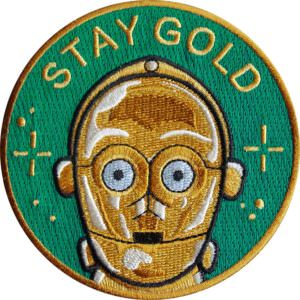 parche star wars c3po